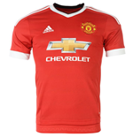 2015-2016 Man Utd Adidas Home Football Shirt (Kids)