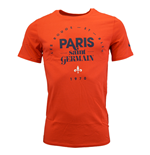 2015-2016 PSG Nike Squad Tee (Red)