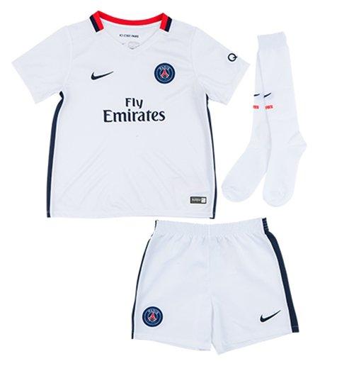8641878f9 Buy Official 2015-2016 PSG Away Nike Little Boys Mini Kit