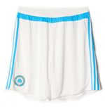 2015-2016 Marseille Adidas Home Shorts (White)