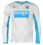 2015-2016 Newcastle Away Long Sleeve Shirt