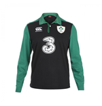 2015-2016 Ireland Alternate Classic LS Rugby Shirt