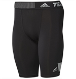 2015-2016 Real Madrid Adidas Techfit Shorts (Black)