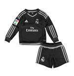 2015-2016 Real Madrid Adidas Home Goalkeeper Mini Kit