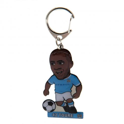 Manchester City F.C. Metal Keyring Toure