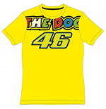 Rossi The Doc Ladies T-Shirt 2015 Yellow