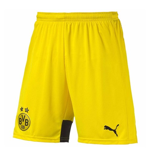 8c67a13f15 Buy 2015-2016 Borussia Dortmund Home Puma Shorts (Yellow) - Kids