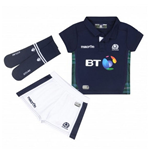 2015-2016 Scotland Macron Home Rugby Mini Kit