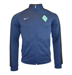 2015-2016 Werder Bremen Nike Authentic N98 Track Jacket (Navy)