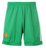 2015-2016 Man Utd Adidas Home Goalkeeper Shorts (Kids)