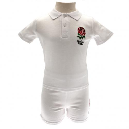 England R.F.U. Shirt & Short Set 18/23 mths