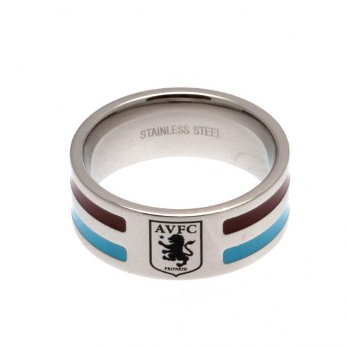 Aston Villa F.C. Colour Stripe Ring Small