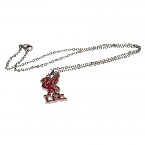Liverpool F.C. Colour Pendant & Chain