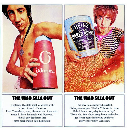 Vynil Who - The Who Sell Out