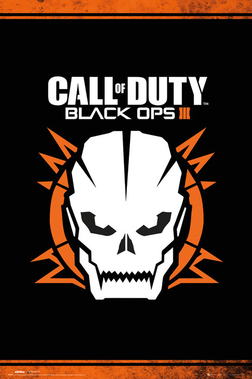 Call of Duty Black Ops 3 Skull Maxi Poster
