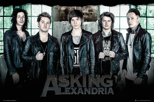 Asking Alexandria Window Maxi Poster