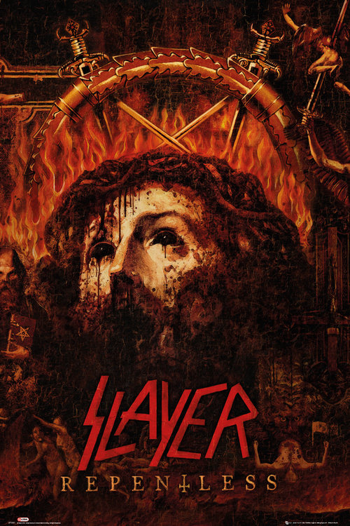 Slayer Repentless Maxi Poster