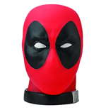 Marvel Comics Coin Bank 1/1 Deadpool Head Previews Exclusive 27 cm