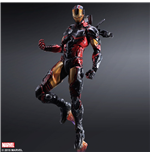 Marvel Comics Variant Play Arts Kai Action Figure Ironman 27 cm