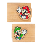 Nintendo Wallet Woodgrain Snap