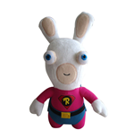 Raving Rabbids Plush Figure Superhero 28 cm