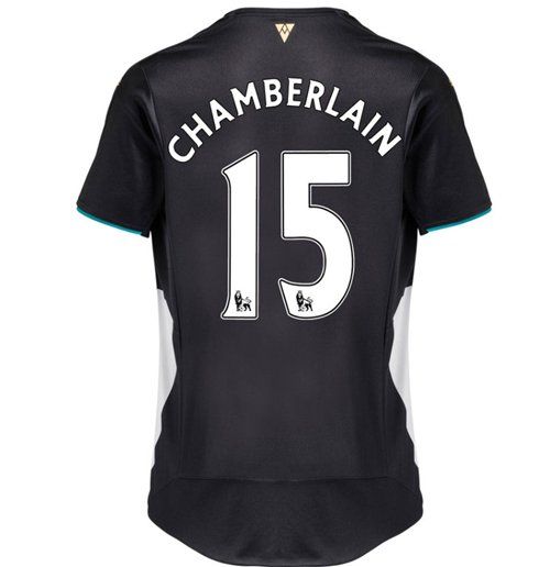 2015-2016 Arsenal Third Cup Shirt (Chamberlain 15)