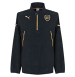 2015-2016 Arsenal Puma Training Fleece (Anthracite) - Kids
