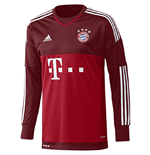 2015-2016 Bayern Munich Away Adidas Goalkeeper Shirt (Kids)