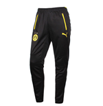 2015-2016 Borussia Dortmund Puma Training Pants with Pockets (Black)