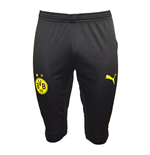2015-2016 Borussia Dortmund Puma Three Quarter Length Pants (Black) - Kids
