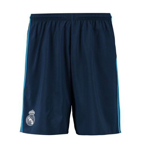 2015-2016 Real Madrid Adidas Third Shorts (Night Indigo) - Kids