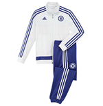 2015-2016 Chelsea Adidas PES Tracksuit (White) - Kids