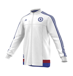 2015-2016 Chelsea Adidas Anthem Jacket (White)