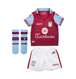 2015-2016 Aston Villa Home Infants Kit