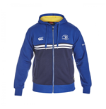 2015-2016 Leinster Rugby Full Zip Hoody (Blue)
