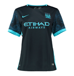 2015-2016 Man City Away Nike Ladies Shirt