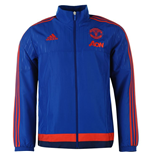 2015-2016 Man Utd Adidas Presentation Jacket (Royal Blue)