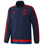 2015-2016 Man Utd Adidas Presentation Jacket (Dark Blue)