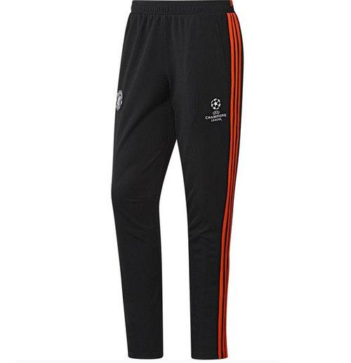 2015 2016 Man Utd Adidas EU Training Pants (Black)