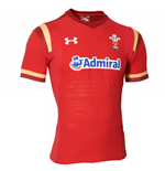 2015-2016 Wales Rugby Home Gameday Shirt (Red)