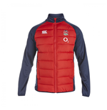 2015-2016 England Rugby Presentation Jacket (Red)