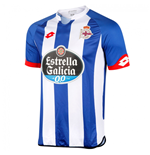 2015-2016 Deportivo La Coruna Lotto Home Football Shirt