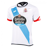 2015-2016 Deportivo La Coruna Lotto Away Football Shirt