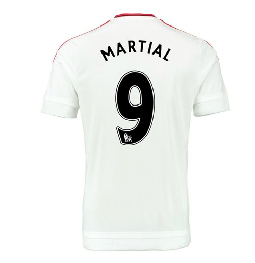 2015-2016 Man Utd Away Shirt (Martial 9) - Kids