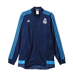 2015-2016 Real Madrid Adidas Anthem Jacket (Indigo)