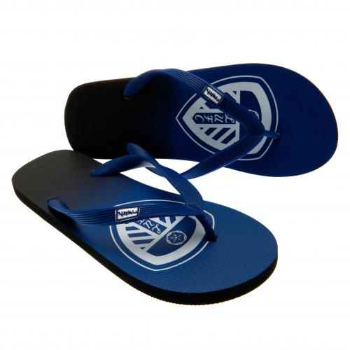 Leeds United F.C. Flip Flops Junior size 6