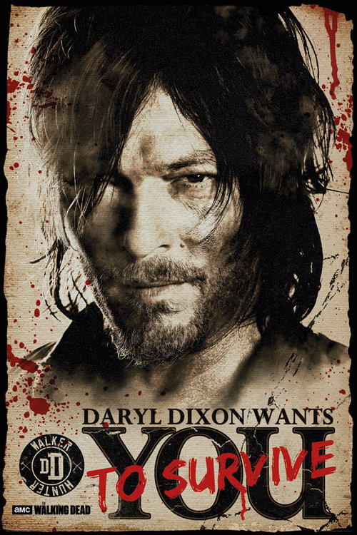 The Walking Dead Daryl Needs You Maxi Poster