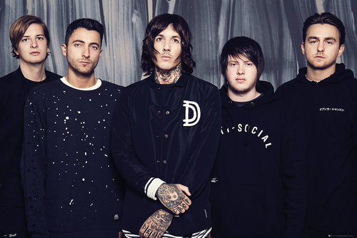 Bring Me The Horizon Umbrella Maxi Poster