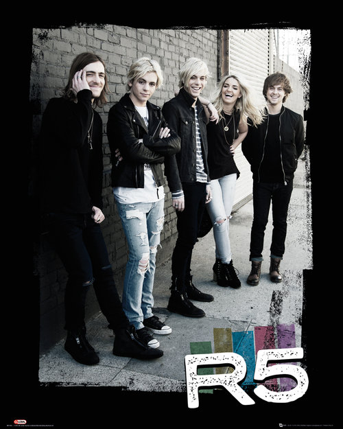 R5 Group Mini Poster