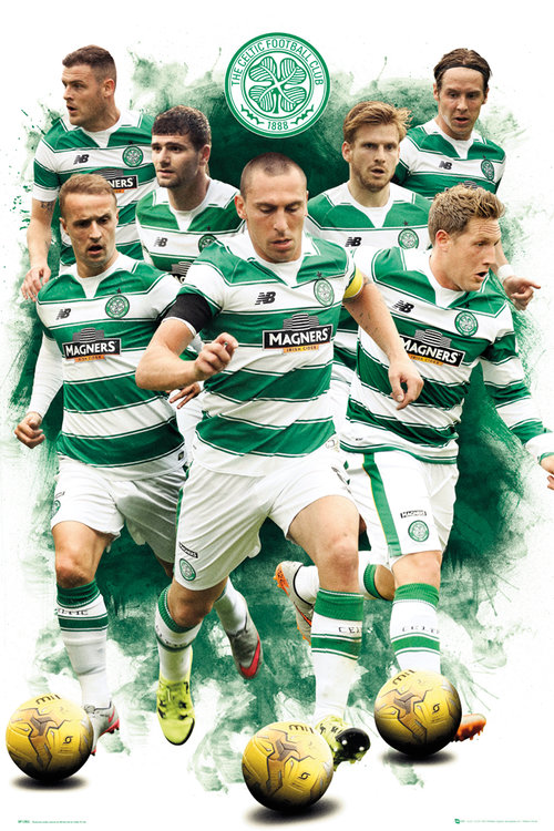 Celtic Players 15/16 Maxi Poster